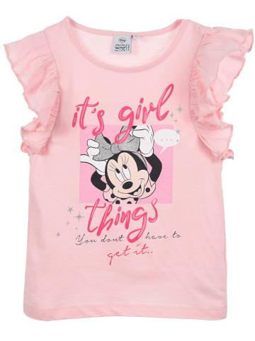 """Disney Minnie Mouse Koszulka """"Minnie"""" w kolorze jasnoróżowym"""