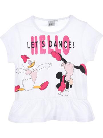 """Disney Minnie Mouse Koszulka """"Minnie Mouse"""" w kolorze białym"""