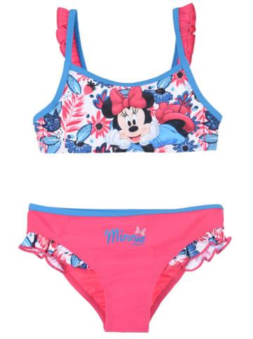 """Disney Minnie Mouse Bikini """"Minnie Mouse"""" w kolorze różowym"""