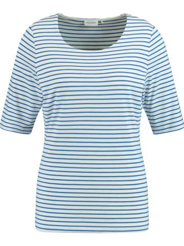 Gerry Weber Koszulka w kolorze biało-niebieskim