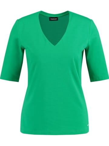 TAIFUN Koszulka w kolorze zielonym