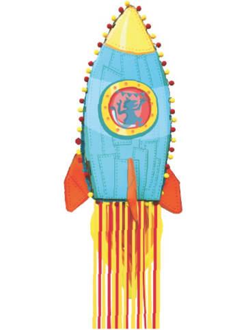 "STYLEX Piñata ""Rocket Rodger"" in Hellblau - (B)23 x (H)78 x (T)12,5 cm"