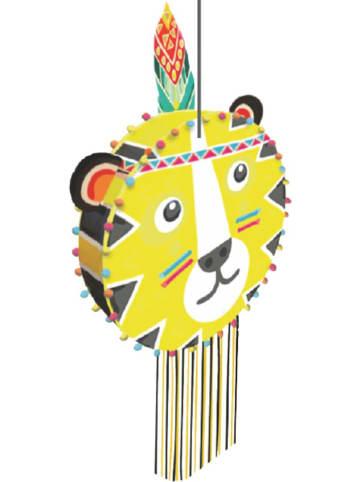 """STYLEX Piñata """"Tiger"""" in Gelb - (B)44 x (H)44 x (T)12,5 cm"""