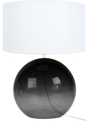 """Tosel Lampa stołowa """"Burnaby"""" w kolorze biało-czarnym - wys. 50 cm"""