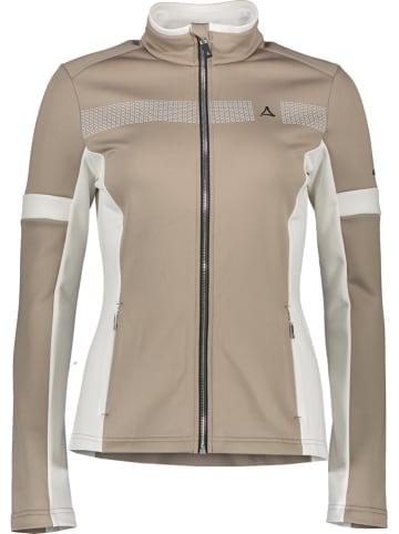 """Schöffel Fleece vest """"Warth"""" beige"""