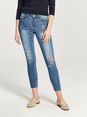 Zabaione Dżinsy w kolorze niebieskim