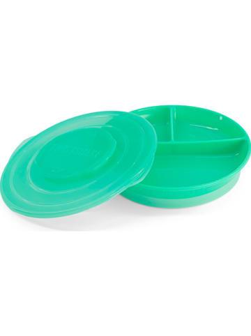 Twistshake Eetleerbord groen