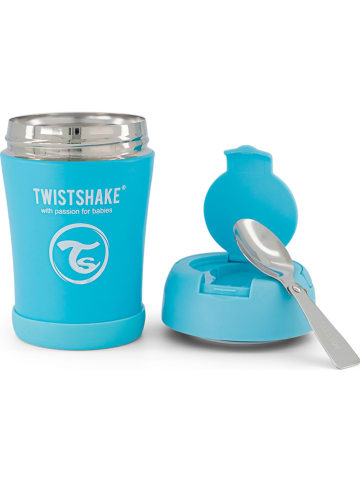 Twistshake Thermocontainer blauw - 350 ml
