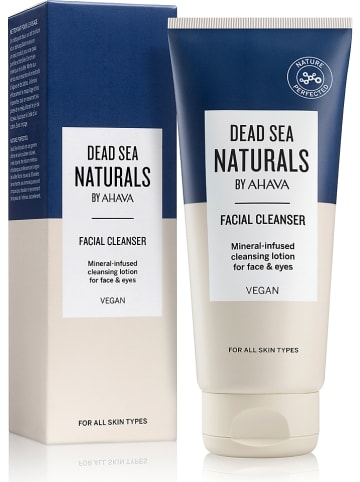 """DEAD SEA NATURALS BY AHAVA Gesichtsreiniger """"Mineral Infused"""", 200 ml"""