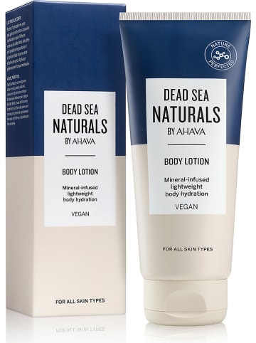 """DEAD SEA NATURALS BY AHAVA Bodylotion """"Mineral-Infused"""", 200 ml"""