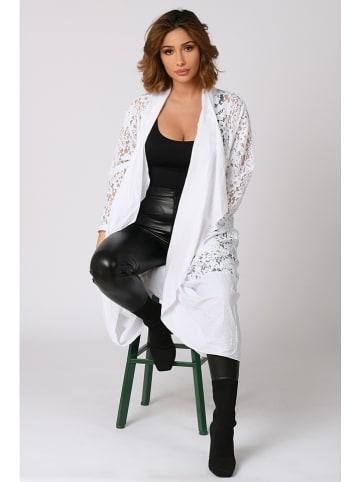 "Plus Size Company Vest ""Elvine"" wit"