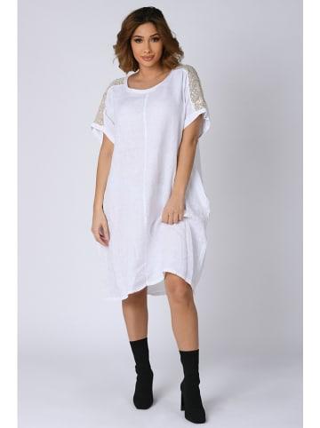 """Plus Size Company Kleid """"Emma"""" in Weiß"""