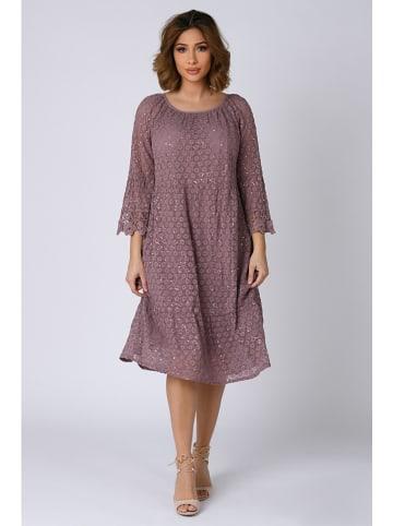 """Plus Size Company Sukienka """"Irene"""" w kolorze fioletowym"""