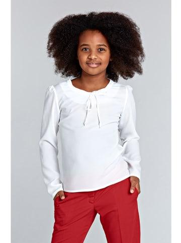 Nife Kids Bluzka w kolorze ecru