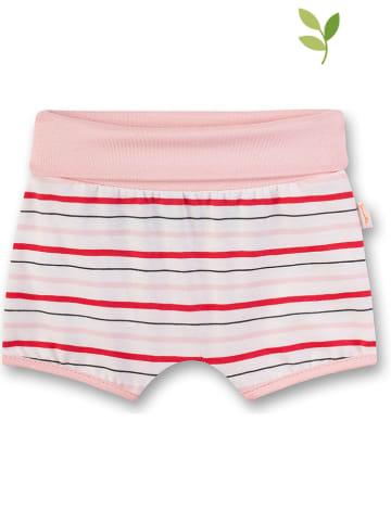 Sanetta Kidswear Szorty w kolorze jasnoróżowym
