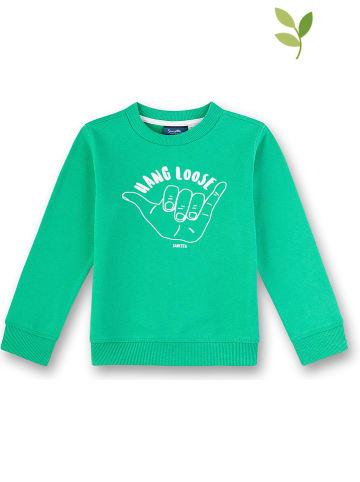 Sanetta Kidswear Bluza w kolorze zielonym