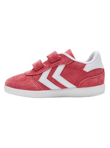 "Hummel Leder-Sneakers ""Victory"" in Koralle"