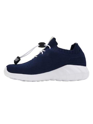 "Hummel Sneakers ""Cloud"" in Dunkelblau"