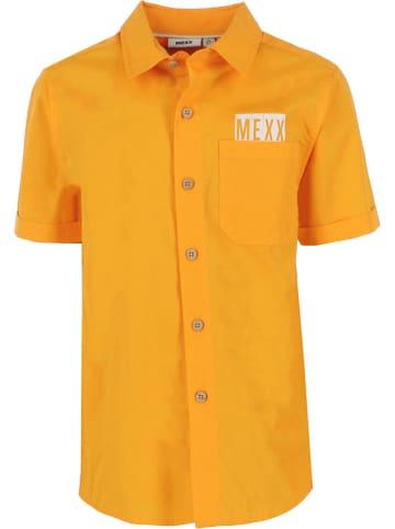 Mexx Koszula w kolorze musztardowym