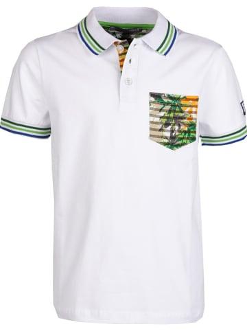 Mexx Koszulka polo w kolorze białym