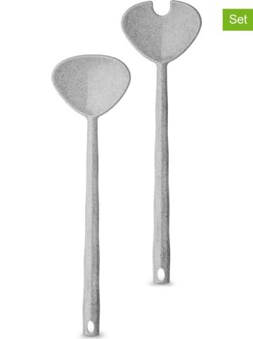 "Koziol Saladebestek ""Crystal"" grijs - (L)29,6 x (B)8,4 cm"