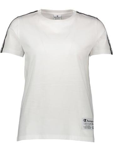 Champion Shirt in Weiß