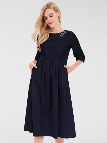 APART Kleid in Dunkelblau