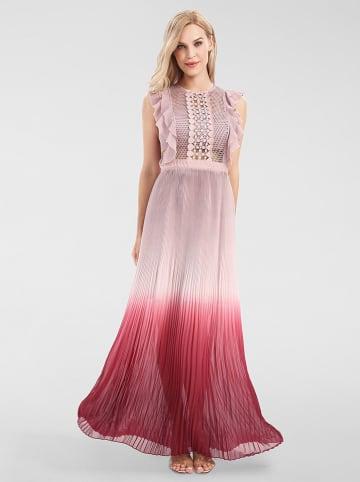 APART Sukienka w kolorze jasnoróżowo-bordowym