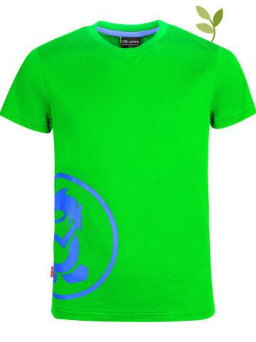 "Trollkids Functioneel shirt ""Kroksand"" groen"