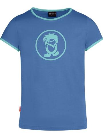 "Trollkids Functioneel shirt ""Kroksand"" blauw"