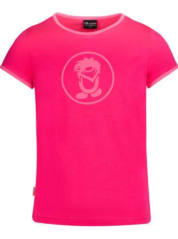 """Trollkids Functioneel shirt """"Kroksand"""" lichtroze"""