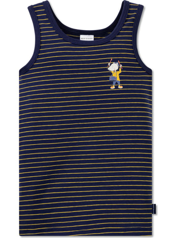 Schiesser Hemd donkerblauw