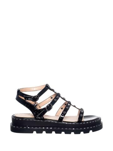 Braccialini Sandały w kolorze czarnym