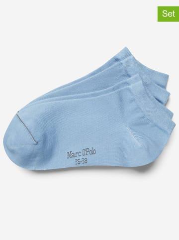 Marc O´Polo Legwear 4er-Set: Socken in Hellblau