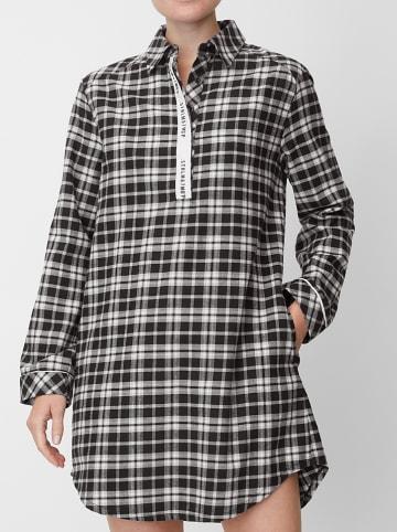Marc O´Polo Bodywear Nachtjapon zwart/wit