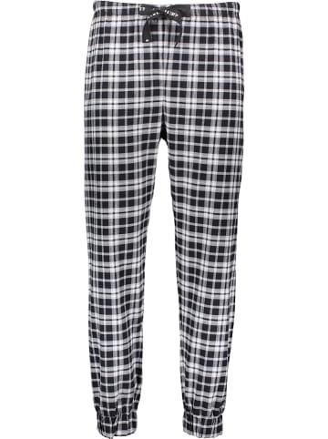 Marc O´Polo Bodywear Pyjamabroek zwart/wit