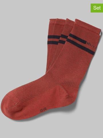 Marc O´Polo Legwear 4er-Set: Socken in Rot