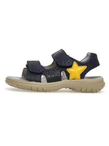 """Naturino Skórzane sandały """"5675"""" w kolorze granatowym"""