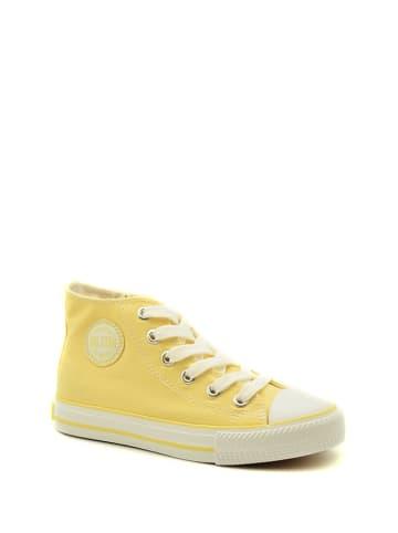 BIG STAR Trampki w kolorze żółtym