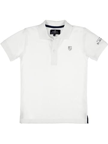POLO CLUB St. MARTIN Poloshirt in Weiß
