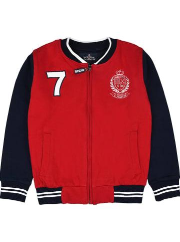 POLO CLUB St. MARTIN Bluza w kolorze czerwonym