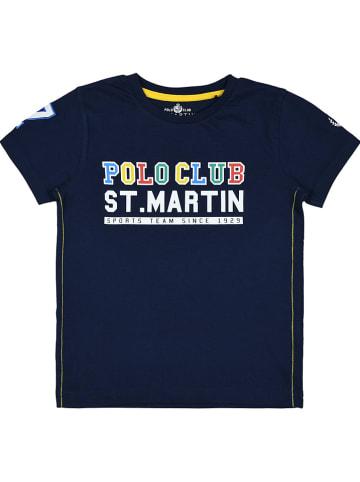 POLO CLUB St. MARTIN Koszulka w kolorze granatowym