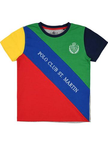 POLO CLUB St. MARTIN Koszulka ze wzorem