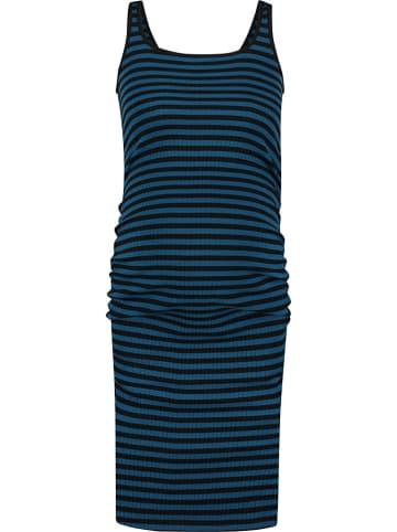 Supermom Zwangerschapsjurk donkerblauw/zwart
