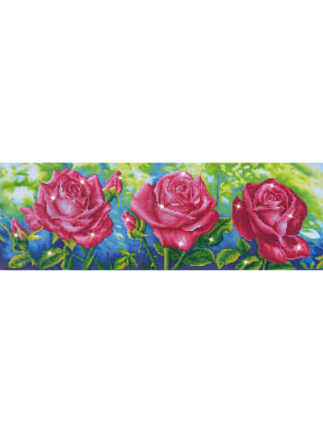 "DIAMOND DOTZ Kreativset ""Les Roses du Jardin - Diamond Dotz®"" - ab 8 Jahren"