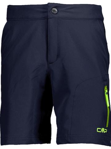 CMP Functionele short donkerblauw/groen