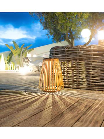 Lumisky Solarna lampa LED w kolorze jasnobrązowym - wys. 43 cm