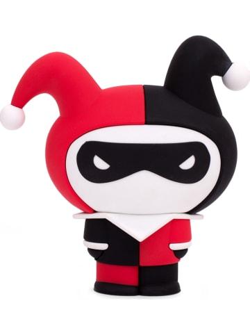 "Thumbs Up Powerbank 2.500 mAh ""Harley Quinn"" rood/zwart - (H)12 cm"