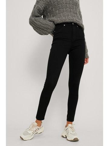 NA-KD Spijkerbroek - skinny fit - zwart