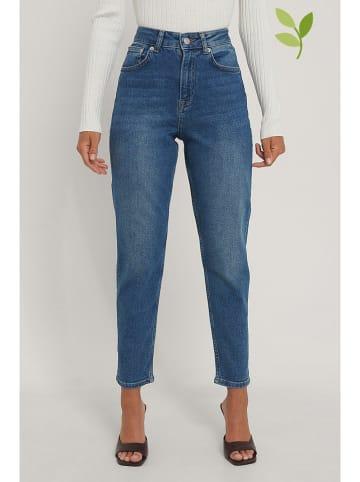 NA-KD Jeans - Mom fit - in Blau